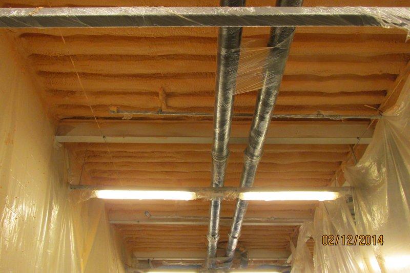 Izolace ploché střechy 1